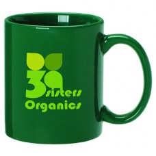 1776 USA - Green Ceramic Mug 11 oz