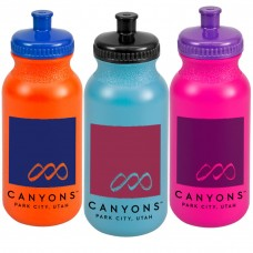 WB20C - The Omni - 20 oz Bike Bottle in Color!