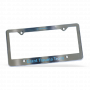 2487 - Chrome Faced License Plate Frame